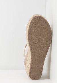 New Look - PICKLE - Sandalen met hoge hak - oatmeal - 5