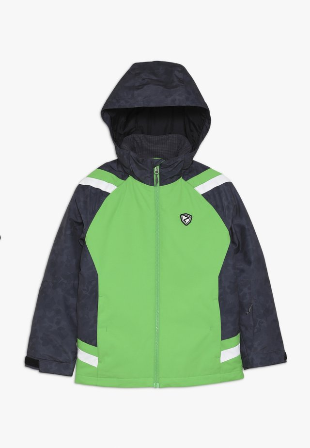AVER JUNIOR - Ski jacket - green
