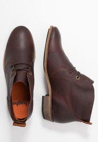 HUB - CHUCKIE - Ankle boots - dark brown - 3