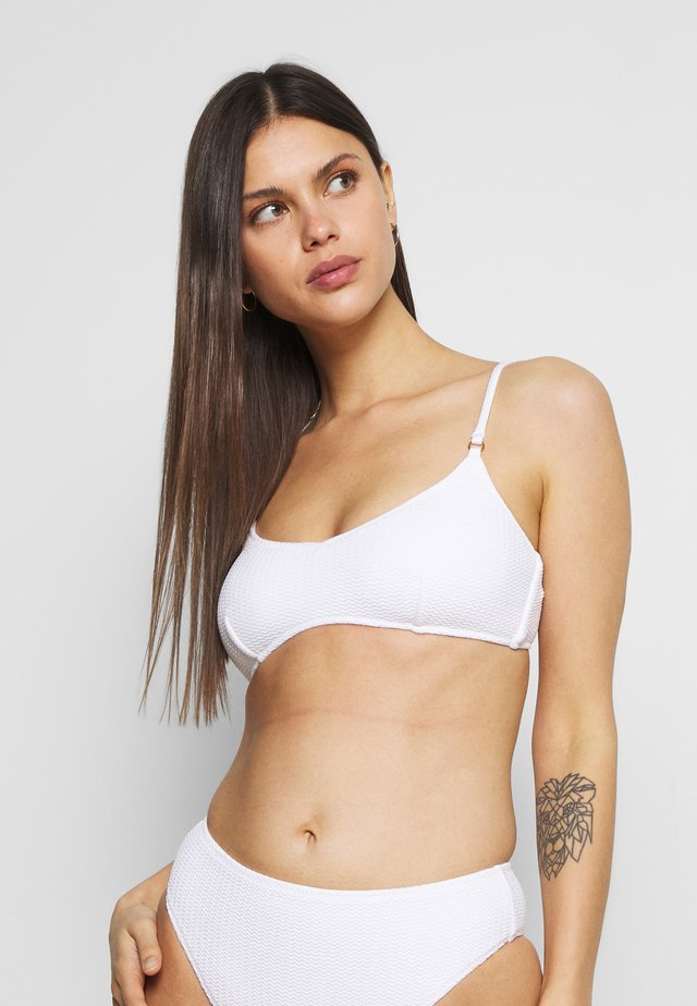 SEA DIVE BRALETTE - Top de bikini - white