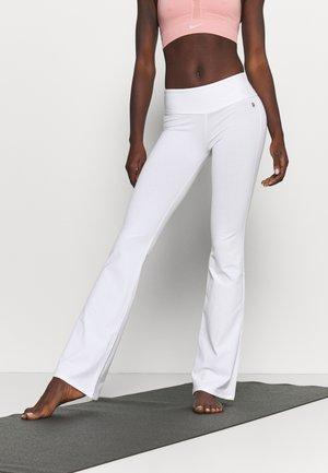 PANTA JAZZ - Jogginghose - white