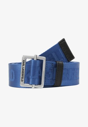 LOGO BELT - Belt - dark blue