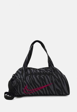 GYM CLUB - Bolsa de deporte - black/fireberry