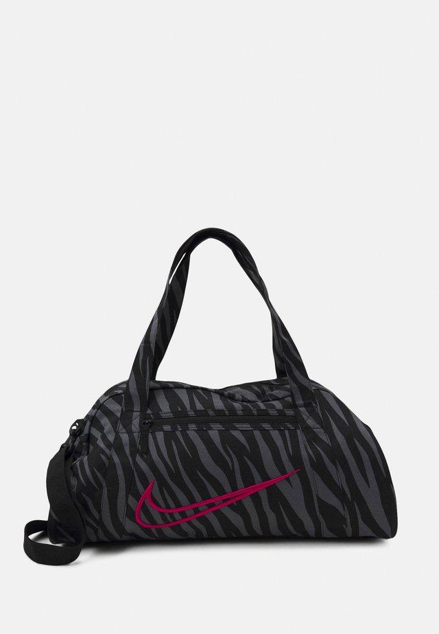 GYM CLUB - Sports bag - black/fireberry