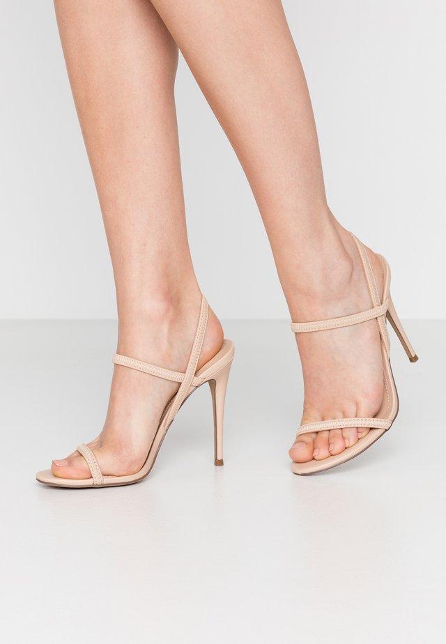 GABRIELLA - High heeled sandals - nude