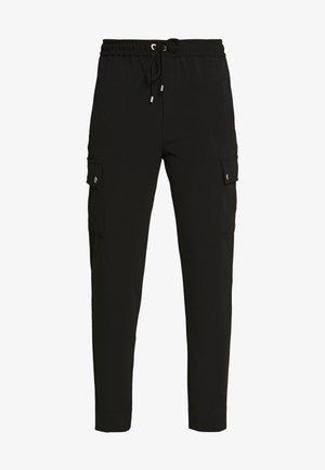 KAYDEIW PANT - Spodnie materiałowe - black