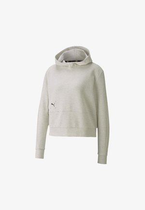 NU TILITY  - Felpa con cappuccio - white heather