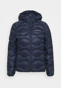 HELIUM HOOD JACKET - Down jacket - blue shadow