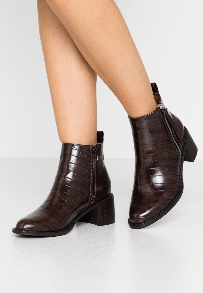 Anna Field - Ankle boots - brown