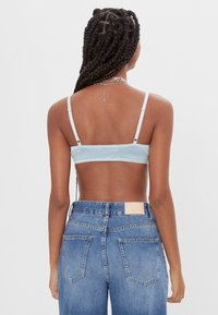 Bershka - Beugel BH - light blue - 2