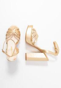 Vero Moda - VMTHEA - High heeled sandals - pale gold - 3