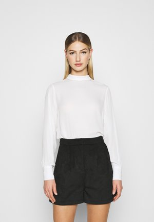 ONLGRORGINA HIGH NECK - Blouse - cloud dancer