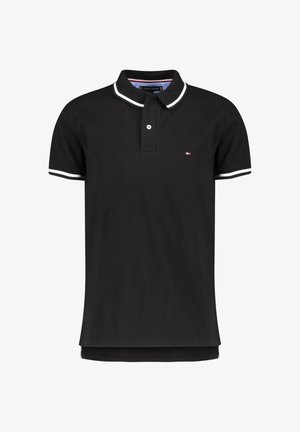 BASIC TIPPED REGULAR - Polo shirt - black (85)