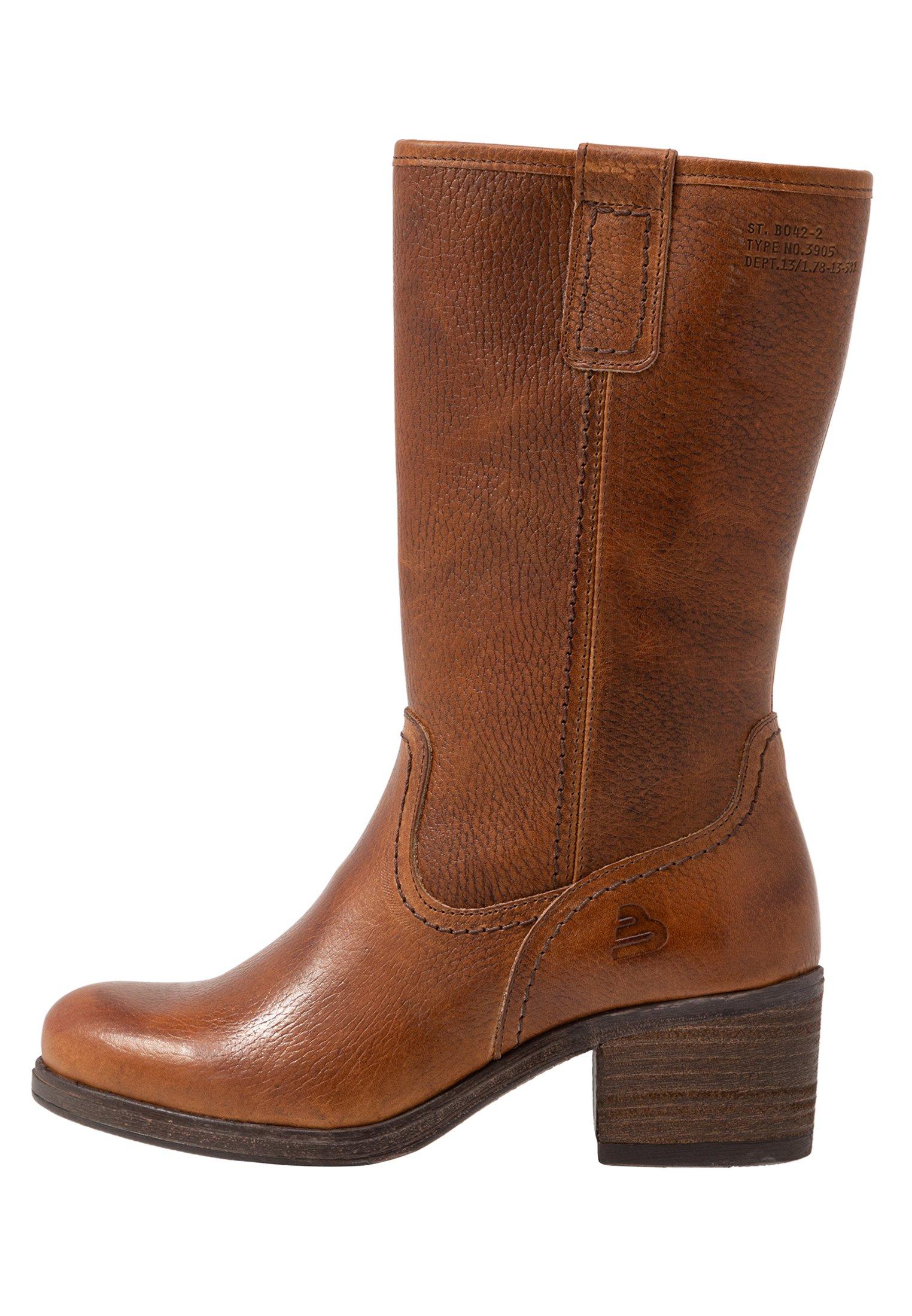 Bullboxer dames laarzen cognac | Nelson Schoenen online