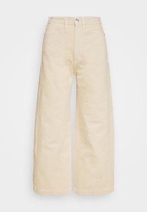 CULOTTE - Široké džíny - sand