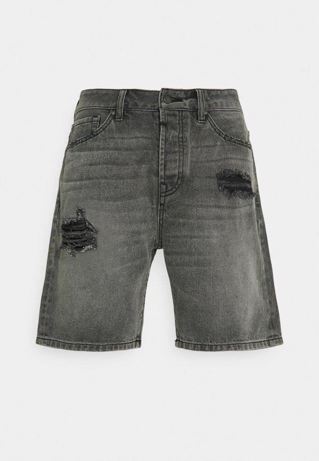LEY - Shorts di jeans - mid grey