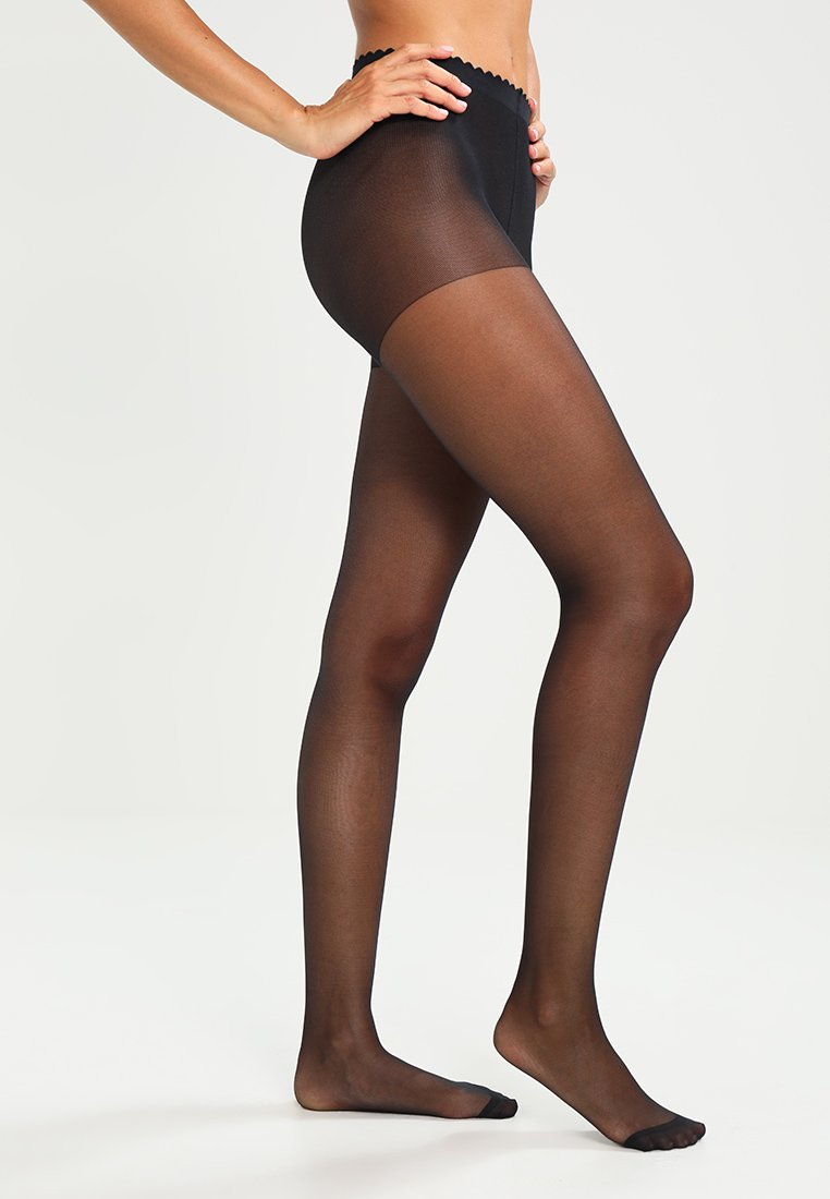 DIM - 20 DEN BODY TOUCH VOILE - Tights -  noir