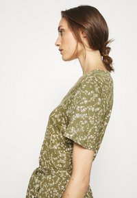 Freequent - Day dress - burnt olive mix - 3
