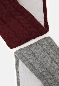 Anna Field - 2 PACK - Čelenka - grey/bordeaux - 2
