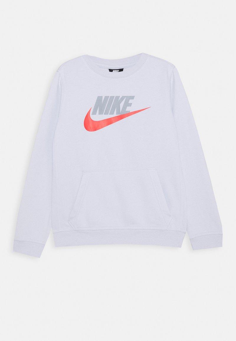 Nike Sportswear - CLUB CREW - Sweatshirt - football grey/obsidian mist