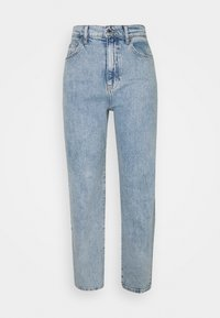 Gina Tricot Tall - COMFY TALL STRAIGHT - Relaxed fit -farkut - sky blue - 0