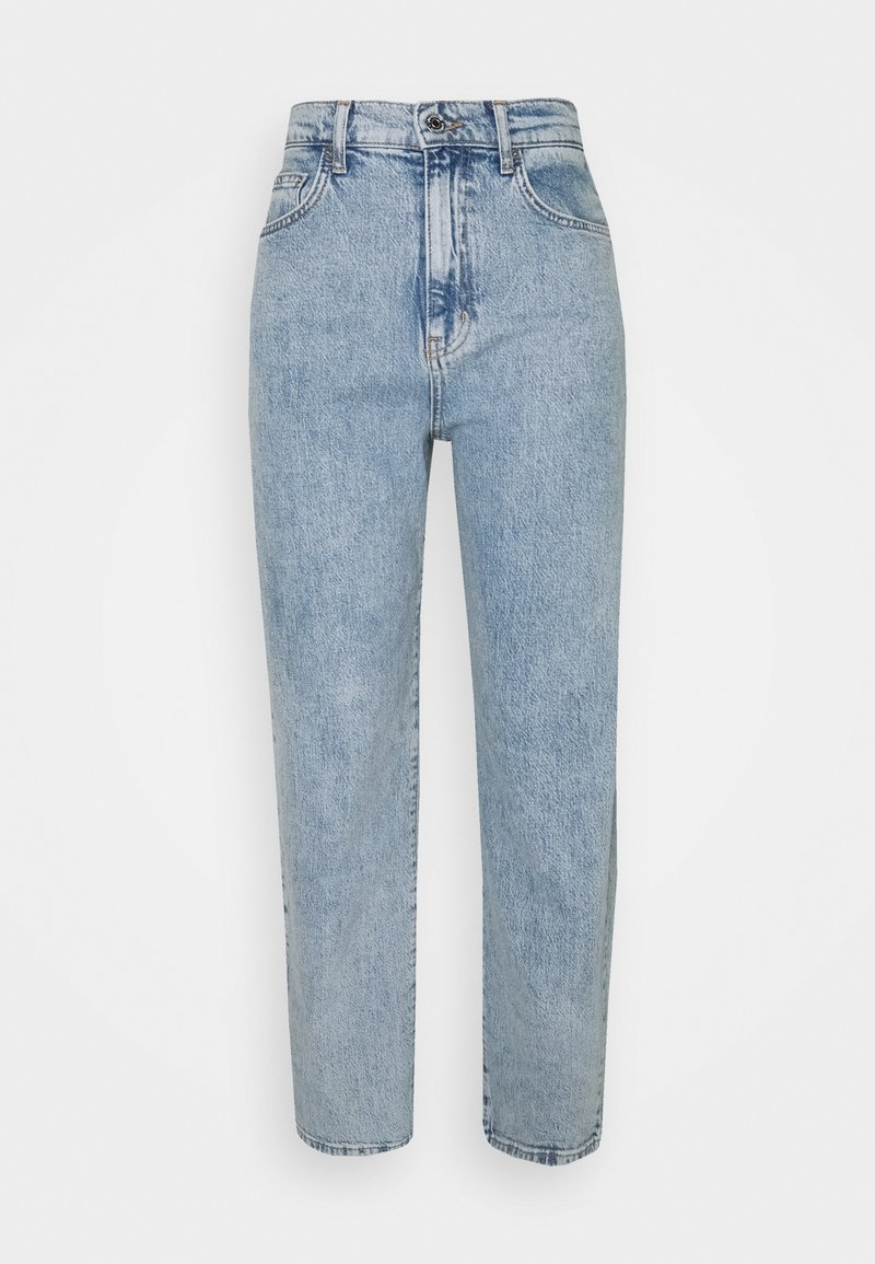 Gina Tricot Tall - COMFY TALL STRAIGHT - Relaxed fit -farkut - sky blue