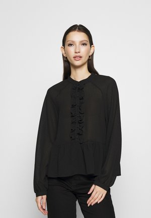 ONLSABBY  - Button-down blouse - black