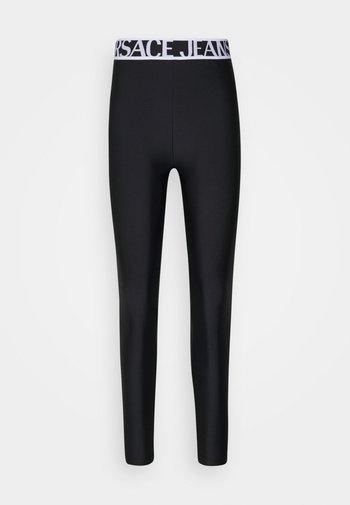 PANTS - Leggings - Trousers - black