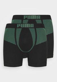 Puma - MEN SEAMLESS 2 PACK - Pants - green combo - 0