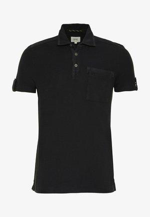 KURZARM MIT BRUSTTASCHE - Polo shirt - asphalt