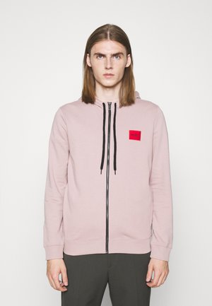 DAPLE - Zip-up sweatshirt - light/pastel brown