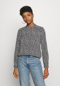ONLY - ONLNEW MALLORY  BLOUSE - Bluser - night sky/anne ditsy - 0