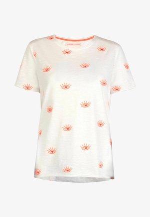 Print T-shirt - koralle
