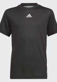 adidas Performance - AEROREADY T-SHIRT - Print T-shirt - black - 2