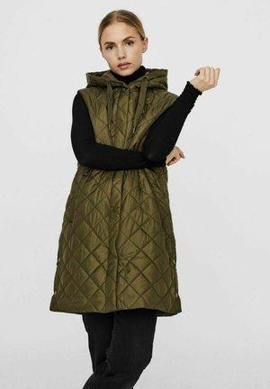 Waistcoat - ivy green