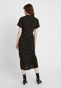 Envii - ENNAPLES DRESS - Shirt dress - black/orange - 2