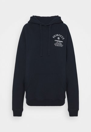 COMMENDED HOODIE  - Mikina s kapucí - navy