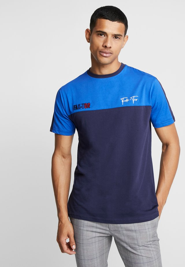 ARKIN TEE - Camiseta básica - navy
