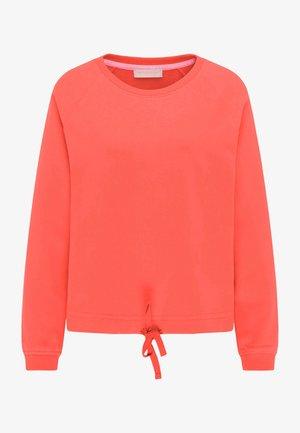 Sweatshirt - mandarin orange