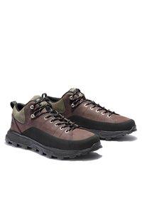 Timberland - TREELINE LOW - Chaussures à lacets - dark brown nubuck - 2