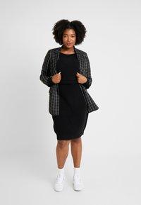 Even&Odd Curvy - Jumper dress - black - 2