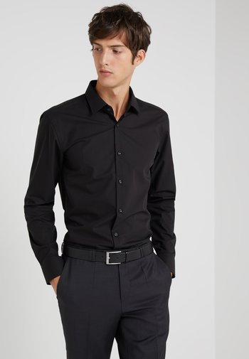 JENNO SLIM FIT - Koszula - black