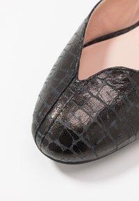 L37 WIDE FIT - FOOTLOOSE - Baleríny - black - 2