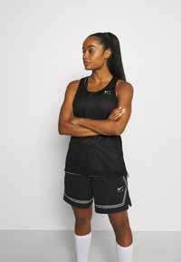 Nike Performance - FLY PRINT - Top - white/black - 3
