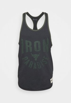 ROCK IRON  - Top - black