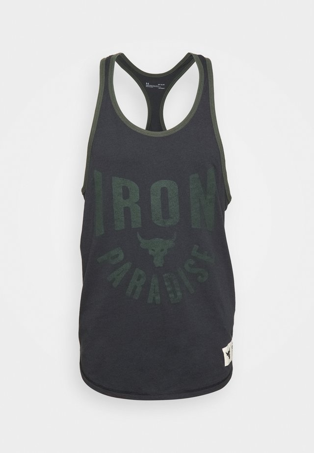 ROCK IRON  - Top - black