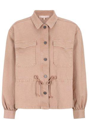 Denim jacket - 342 misty rose