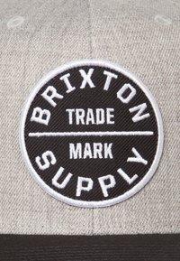 Brixton - OATH SNAPBACK - Caps - heather grey - 6