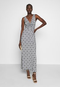 Anna Field - GEO PRINT DRESS  - Maxi dress - maritime blue/white - 2
