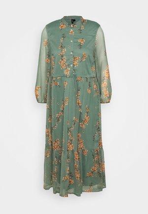 VMWONDA CALF DRESS - Shirt dress - laurel wreath